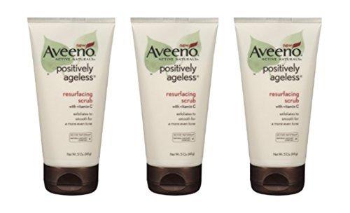 Aveeno Resurfacing Scrub 5 oz (Pack of 3)