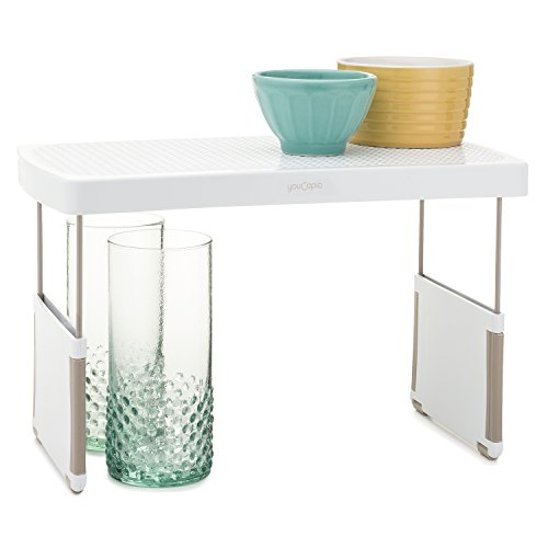 (YouCopia StoreMore Height Expandable Kitchen Shelf Organizer, 13-Inches,)