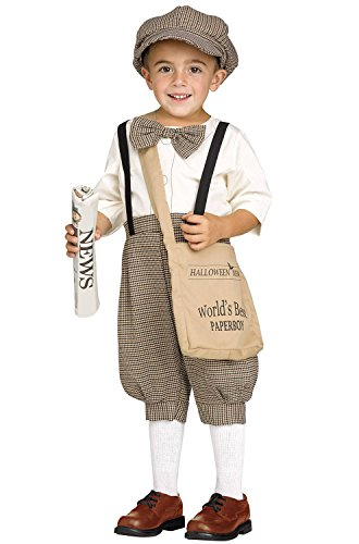 Retro Newsboy / Paper Boy Toddler Costume (2)