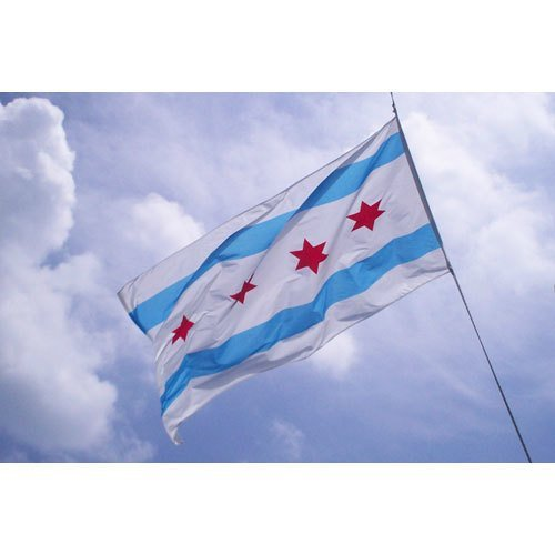 City of Chicago 3' x 5' Flag by ThirtyFive55