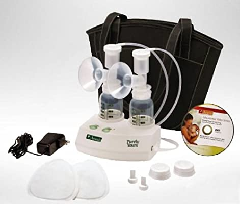 Amazon Com Ameda Purely Yours Express Double Electric Breast Pump