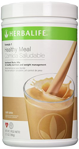 1 Shake Formula Mix - Herbalife Formula 1 Nutritional Shake Mix Cafe Latte 27.5oz(780g)