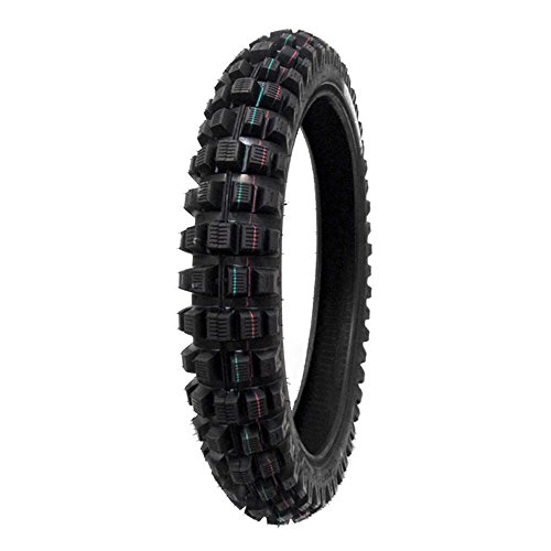 Dirt Bike Tire 100/90-19 Model P82 Front or Rear Off-Road Fits on Suzuki RM250 (1992-08), RM250Z Ricky Carmichael Limited Edition 2006, RMZ450 (2005-13), RMZ450Z Carmichael Replica 2007