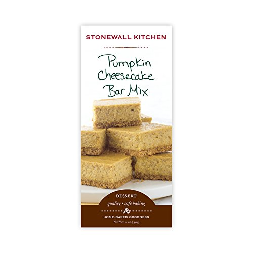 Stonewall Kitchen Pumpkin Cheesecake Bar Mix, 12 Ounce - Stonewall Kitchen Pumpkin
