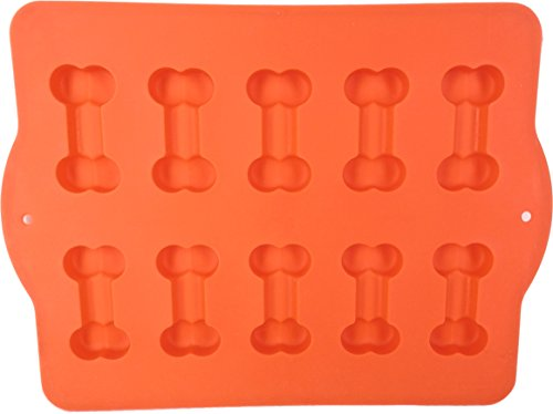 Hugs Pet Products Silicone Bake Or Freeze Dog Treat Pan