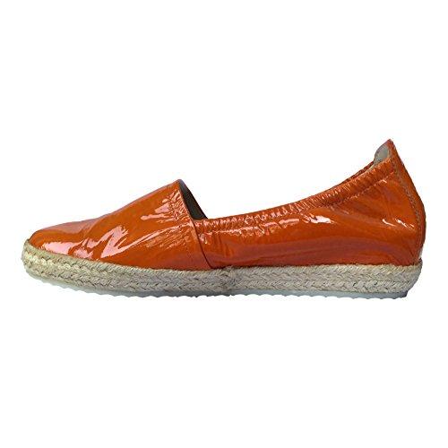 Kennel & Schmenger - sin cordones mujer Orange Patent (Orange)