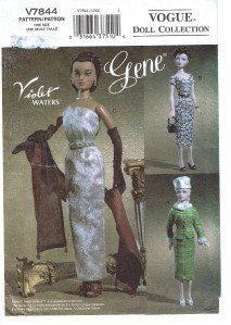 Vogue 7844 - Gene Doll Clothes, C. 1952-1953 -Patterns for 3 Outfits (Vogue Doll Collection) ()
