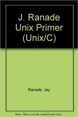 Book The J. Ranade Unix Primer (Unix/C)