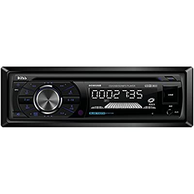 BOSS Audio In-Dash Single-Din CD/USB/SD/MP3 Player Receiver