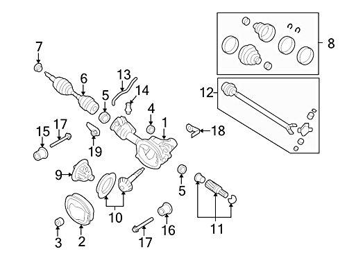 Amazon Com Ford 6l2z 4b413 B Axle Shaft Bearing Automotive