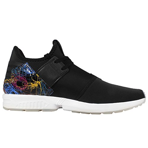 Adidas Zx Flux Plus Black White Nero-bianco