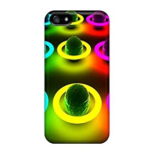 Durable 3d Colour Back Cases/covers For Iphone 5/5s