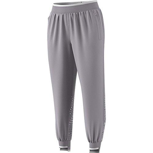 adidas Women`s Stella McCartney Barricade Tennis Pant Pearl Gray - (CG2375-S18)