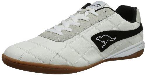 KangaROOS Raoul 7320A - Zapatillas de deporte para hombre Blanco (Blanc - Weiß (wht/blk 005))