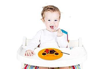 Ente Blau//Gelb Baby Teller Sch/üssel Mini Silikon Tischset f/ür Baby Kleinkinder und Kinder Tragbar Teller Baby Rutschfest Babyteller Tischset Abwaschbar f/ür Sp/ülmaschine Mikrowelle