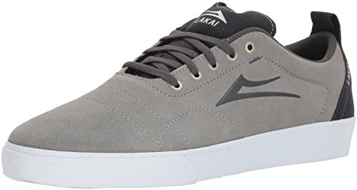 Lakai Limited Chaussures Hommes Bristol Gris Clair / Anthracite