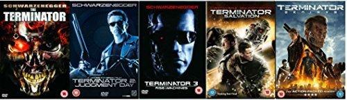 Terminator Pentalogy Complete 1-5 5 Discs DVD Collection ...