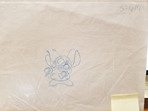 Original Production Drawing - Lilo and Stitch- Stitch Original Production Drawing