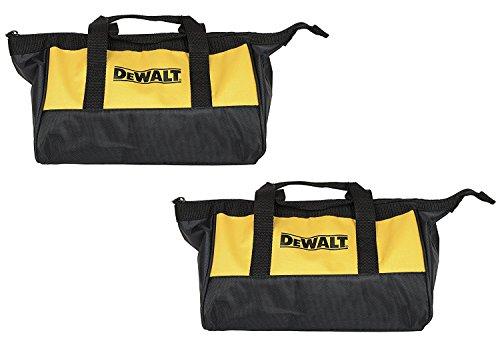 Dewalt Ballistic Nylon 12-inch Mini Tool Bag - 2-Pack Ballistic Nylon Zipper