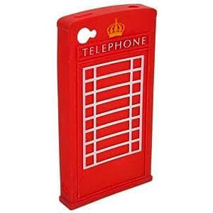 Funda Silicona para iPhone 4 y 4S Cabina Londres