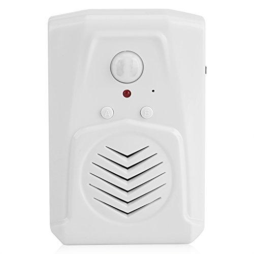- Zerodis IR Motion Sensor Alarm Visitor Greeting Doorbell Wireless Welcome Guest Doorbell for Stores Shops Hotel Home