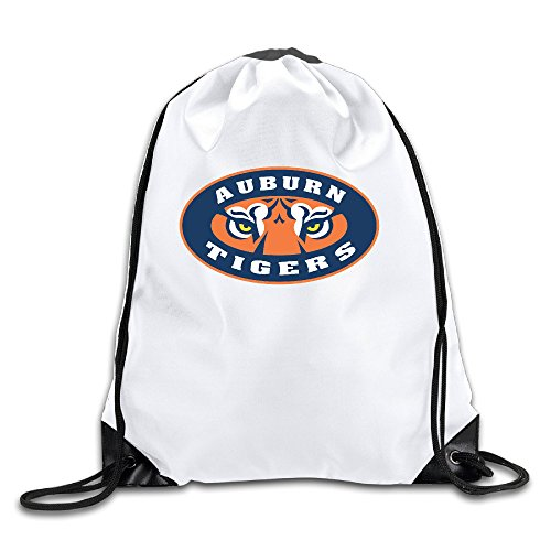 Auburn University Men's Women's Shoulder Drawstring Bag Backpack String Bags School Rucksack Gym Handbag