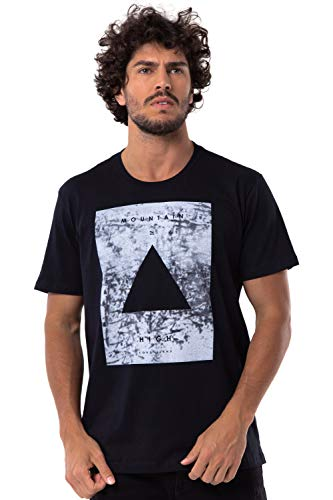 Camiseta Long Island Triangle Preta