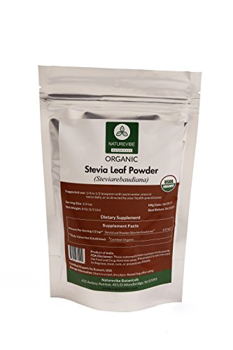 Organic Stevia Leaf Powder (8 oz)