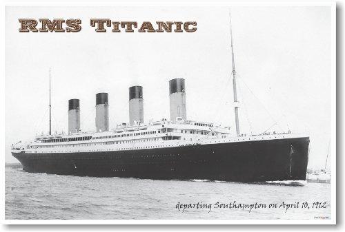 RMS Titanic - NEW Vintage Photograph Reprint Poster
