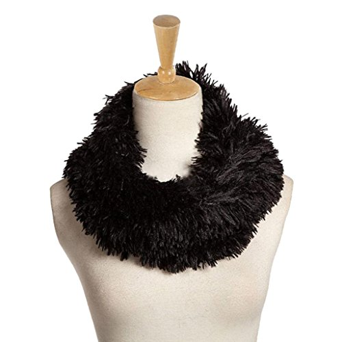 DDLBiz Womens Circle Collar Scarve