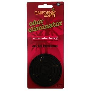 California Scents ELM2-P-1207MC 2.5 oz Coronado Cherry Odor Eliminator Car Air Freshener