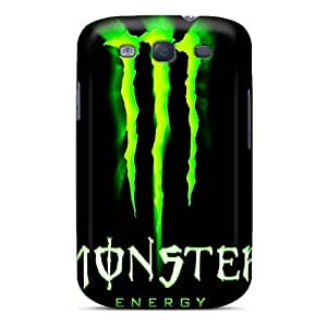 Fashionable Style Case Cover Skin For Galaxy S3- Monster