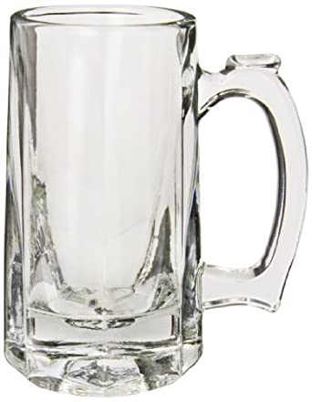 "Anchor Hocking 1170U 4-7/8"" Diameter x 5-7/8"" Height, 10 oz Tankard Beer Mug (Case of 12)"