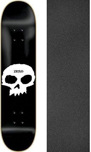 面白い上に築きます通行人ゼロスケートボードSingle Skullスケートボードデッキ – 8