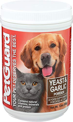 PetGuard Dog & Cat Yeast and Garlic Powder Supplement, 12-oz