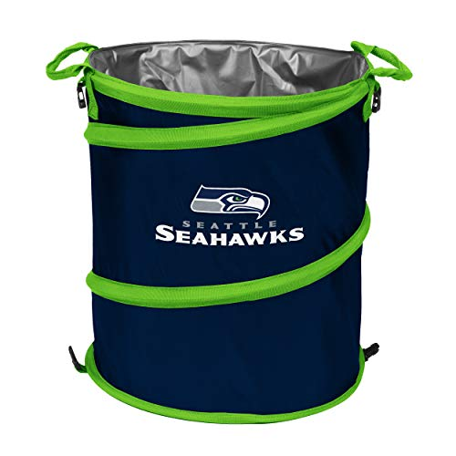 Logo Brands 1004142 NFL Seattle Seahawks 3-in-1 Cooler, 10-14 gal, Blue