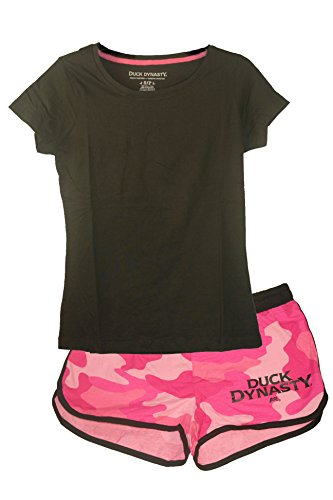 Womens Duck Dynasty T shirt Shorts
