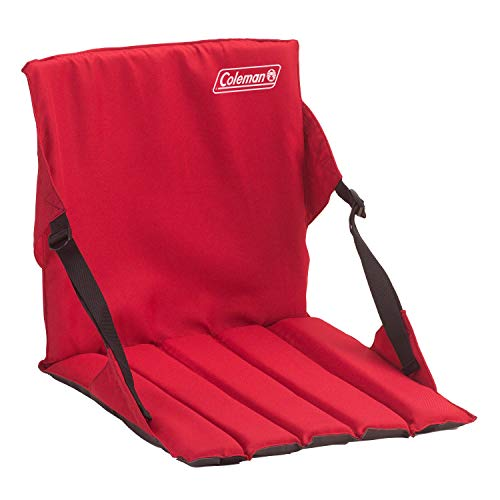 Coleman 2000020265 Chair Stadium Seat Red ()