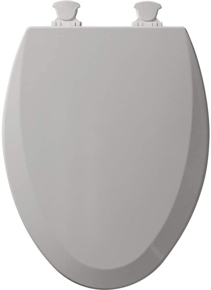 Bemis 1500EC162 Molded Wood Elongated Toilet Seat With Easy Clean and Change ...