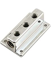 Mr. Gasket 6151 Classic T-Style Triple Outlet Fuel Block