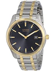 Citizen Eco-Drive Mens AU1044-58E Two Tone Watch
