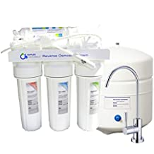 Premium 5 Stage Reverse Osmosis Drinking Water Filtration System - Remove Chlorine, Heavy Metals, Fluoride