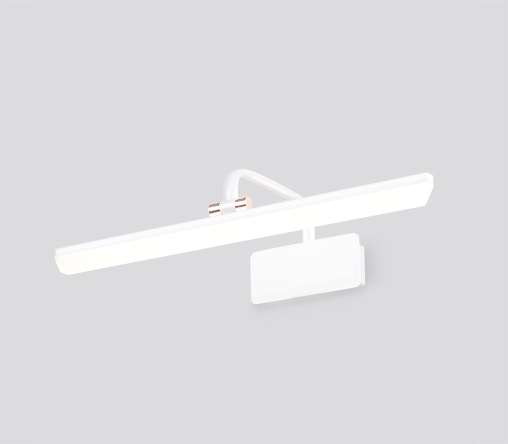& Spiegellampen Spiegel-Licht-Badezimmer-Badezimmer-Spiegel-Kabinett-Beleuchtung LED-Verfassungs-Lampen-Toiletten-Wand-Lampe [energiesparendes A +] Badezimmerbeleuchtung (Farbe   Weiß-43cm)