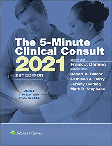 The 5-Minute Clinical Consult 2021 (The 5-Minute Consult Series), 29th Edition