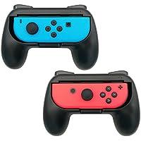 2-Pack FastSnail Joy-Con Grips for Nintendo Switch (Black)