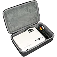 Hard Travel Case for ELEPHAS 1800 Luminous Efficiency LED Movie Projector by co2CREA