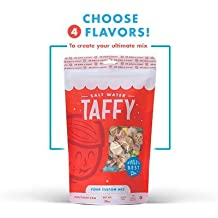 Taffy Shop Create a 2 pound bag of Assorted Saltwater Taffy--Choose up to 4 Flavors of Gourmet Salt Water Taffy's (World's Best Taffy