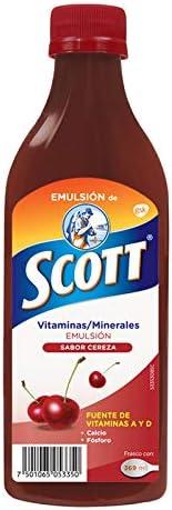 Emulsión de Scott Multivitamínico Sabor Cereza 369ml