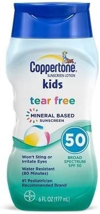 Sunscreen & Tanning: Coppertone Kids Tear Free