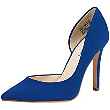 JENN ARDOR Stiletto High Heel Shoes for Women: Pointed, Closed Toe Classic Slip On Dress Pumps